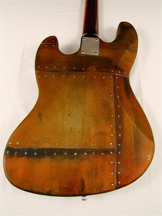 Smashmouth bass guitar body back Picture
