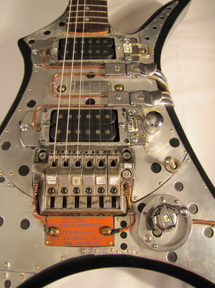 ACME electric guitar detail front Picture