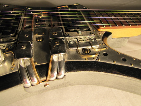ACME electric guitar detail side Picture