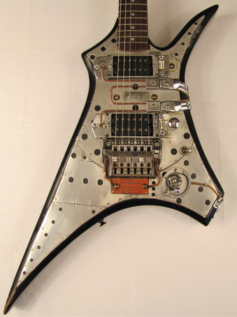ACME electric guitar body front Picture
