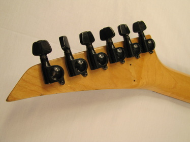 ACME electric guitar head back Picture