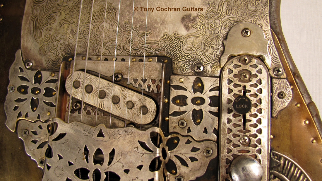 Tony Cochran Derringer guitar #65 bottom front Picture