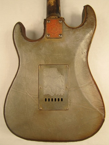 40/50 Guitar body back Picture