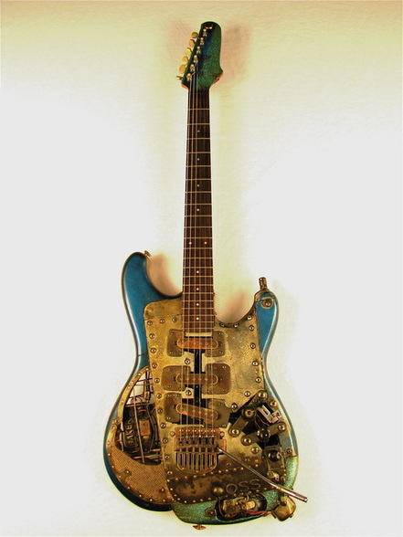 OSScaster electric guitar full front Picture
