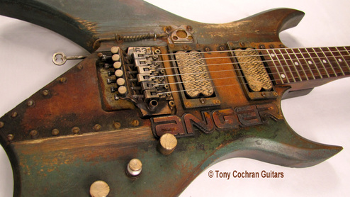 Tony Cochran ANGER63 guitar #63 angle front Picture