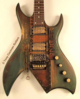 Tony Cochran ANGER63 guitar #63 body front Picture