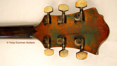 Tony Cochran ANGER63 guitar #63 head back Picture