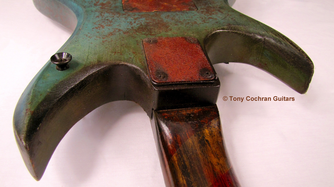 Tony Cochran ANGER63 guitar #63 edge back Picture