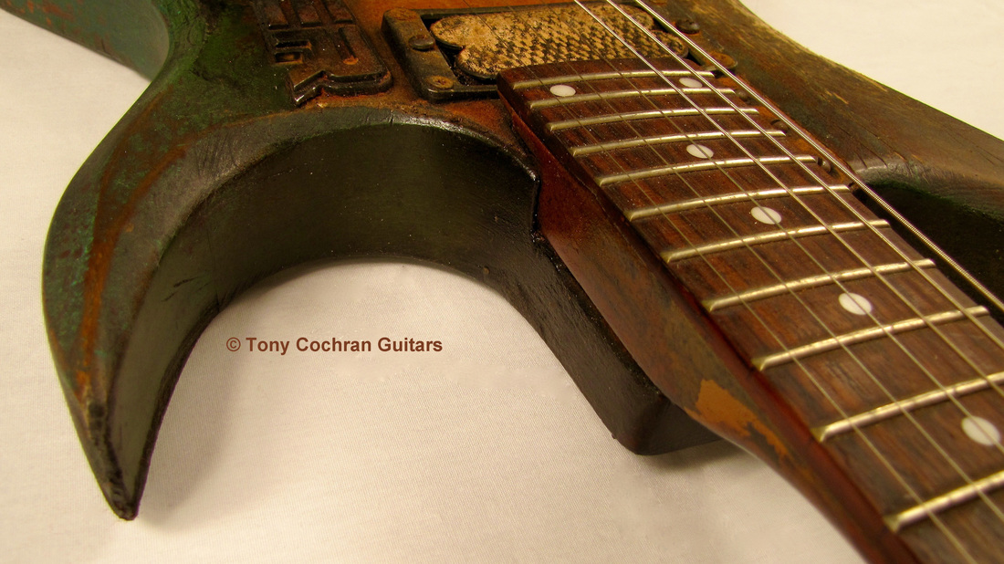 Tony Cochran ANGER63 guitar #63 edge front Picture