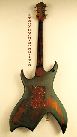 Tony Cochran ANGER63 guitar #63 full back Picture