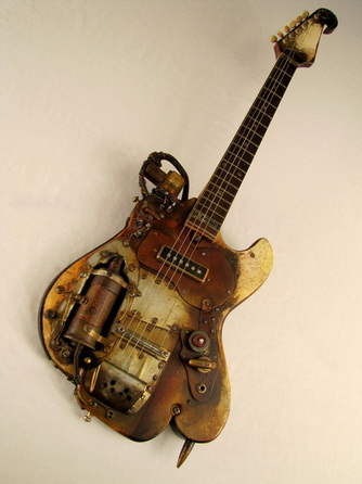 Picture A-Bombcaster guitar