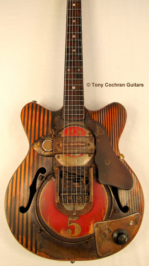 Tony Cochran JCW5 guitar body front Picture