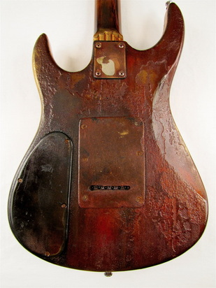 LightHouse electric guitar body back Picture