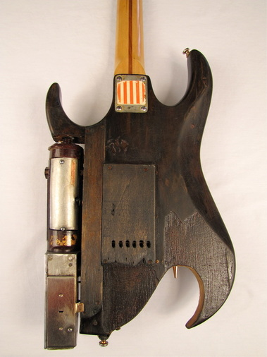 Jynx guitar body back Picture