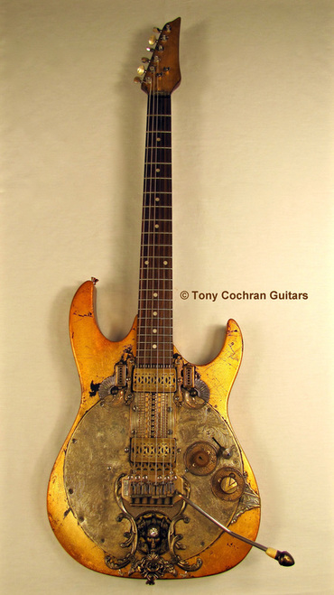 Tony Cochran Rising Sun guitar full front Picture