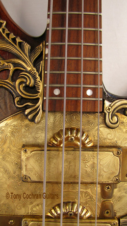 Tony Cochran Derek's Bass guitar #60 mid front Picture