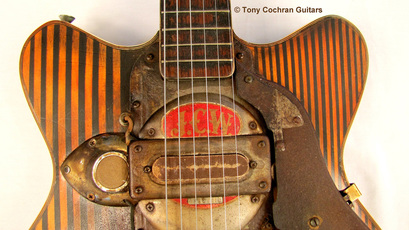 Tony Cochran JCW5 guitar top front Picture