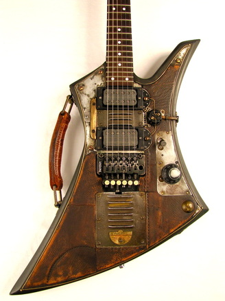Synchron guitar body front Picture