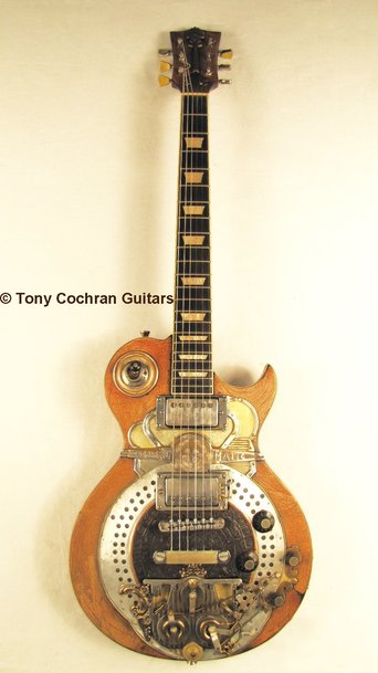 Centro-Matic guitar #66 full front Picture